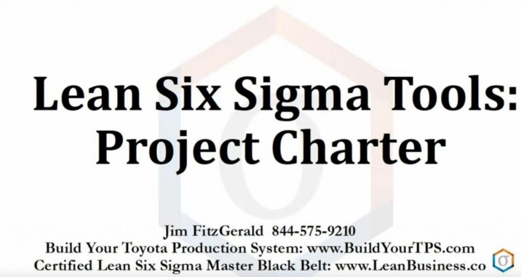Lean Six Sigma Project Charter
