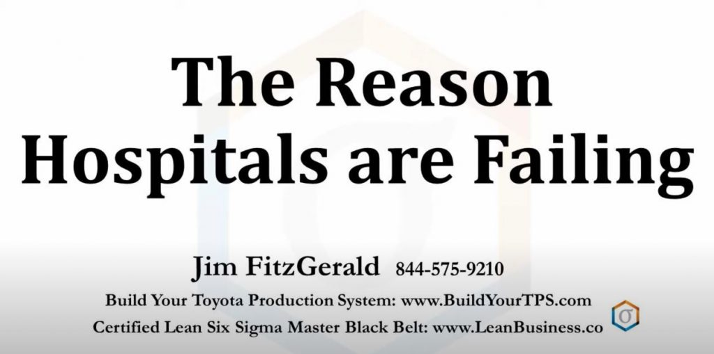 The Reason Hospitals are Failing